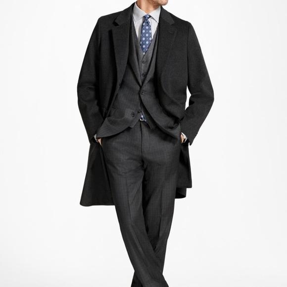 Brooks Brothers Brooksstorm Italian Long Town Coat